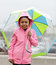 Stock Image : I wont let the rain get me down