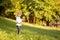 Stock Image : Girl in park
