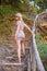 Stock Image : Girl Posing in Nature