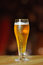 Stock Image : Glass of light beer