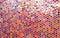 Stock Image : Glass round glossy mosaic pattern