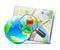 Stock Image : Globaal navigatieconcept