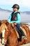 Stock Image : Going on horseback