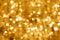 Stock Image : Gold Bokeh Light