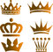Stock Image : Gold Crown