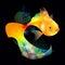 Stock Image : Gold fish