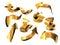 Stock Image : Golden Arrows Set