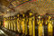 Stock Image : Golden Buddha statues in  Dambulla Cave Temple, Sri Lanka