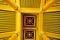 Stock Image : Golden ceiling