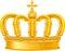 Stock Image : Golden crown