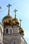 Stock Image : Golden dome of Catherine Palace