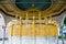 Stock Image : Golden fountain Hagia Sophia Istanbul