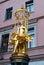 Stock Image : Golden Sculpture
