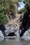Stock Image : Gole dell'Alcantara - a canyon on the river Alcantara.Sicily