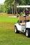 Stock Image : Golf Cart