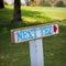 Stock Image : Golf Sign: Next Tee