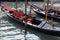Stock Image : Gondolas in Venice