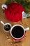 Stock Image : Gorąca zimy herbata z pikantność