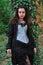 Stock Image : Goth girl
