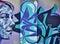 Stock Image : Graffiti wall