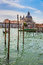 Stock Image : Grand Canal and Basilica Santa Maria della Salute