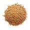 Stock Image :  Grano del trigo en un fondo blanco