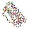 Stock Image : Granulocyte colony-stimulating factor (GCSF, filgrastim) molecul
