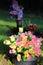 Stock Image : Graveside Flowers