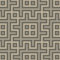 Stock Image : Gray seamless geometric pattern in folk style