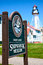 Stock Image : Great Lakes Shipwreck Museum and Whitefish Point Lighthouse