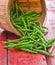 Stock Image : Green beans