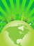 Stock Image : Green City