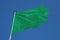 Stock Image : Green Flag