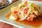 Stock Image : Fruit papaya salad