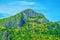 Stock Image : Green rocky mountain
