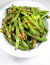 Stock Image : Green string beans chinese dish