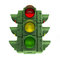 Stock Image : Green traffic light