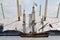 Stock Image : Greenwhich Tall Ships Regatta