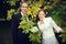 Stock Image : Groom и невеста