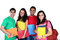 Stock Image : Group of Indian Students