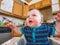 Stock Image : Grumpy Baby