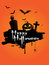 Stock Image : Grunge Halloween background