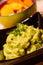 Stock Image : Guacamole con nachos