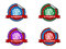 Stock Image : Guarantee sale badge