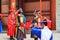 Stock Image : Guard of the Deoksugung Palace