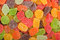 Stock Image : Gummy candy background