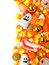 Stock Image : Halloween candy border
