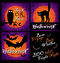 Stock Image : Halloween designs set (vector)