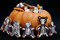 Stock Image : Halloween Gingerbreads&Pumpkin