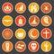 Stock Image : Halloween icon